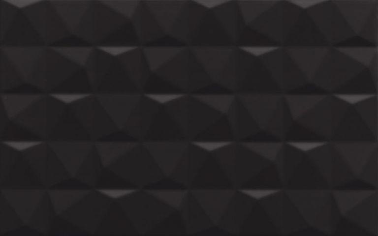dekor melby nero struktura 25x40