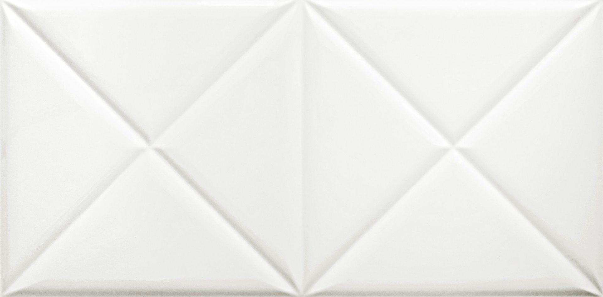 płytka ścienna wall super white lara shiny