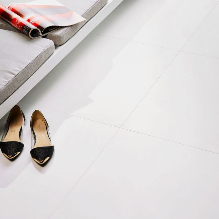 płytki podłogowe super white polished