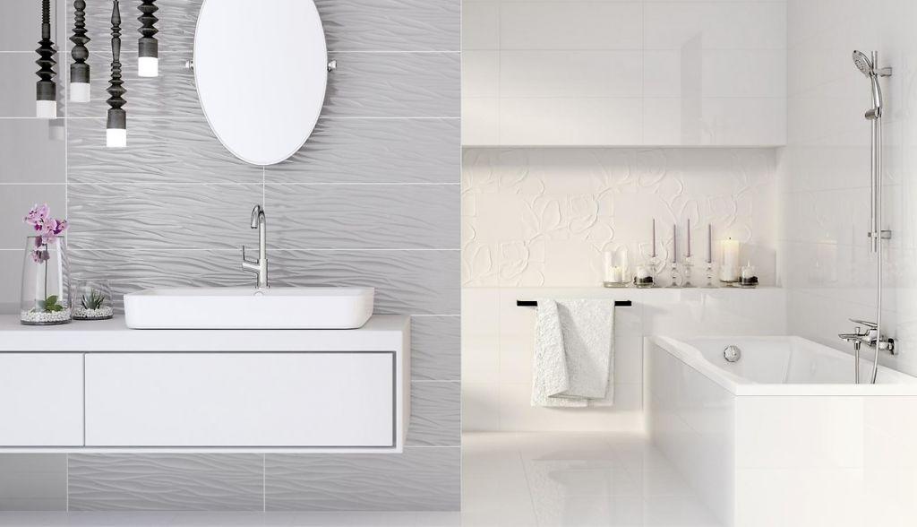 structure pattern bathroom